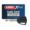 ABUS Bordo Granit xPlus 6500 ST Bike Lock grey/red